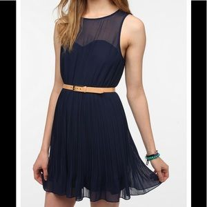 Urban Outfitters x Pins and needles navyblue dress